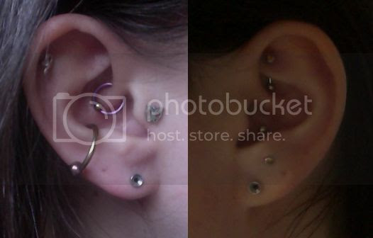 A Question About My Stretched Ears And Placement Pics Included