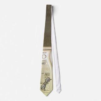 The Newspaper Tie tie