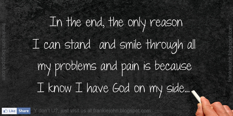 Quotes About God On My Side 30 Quotes