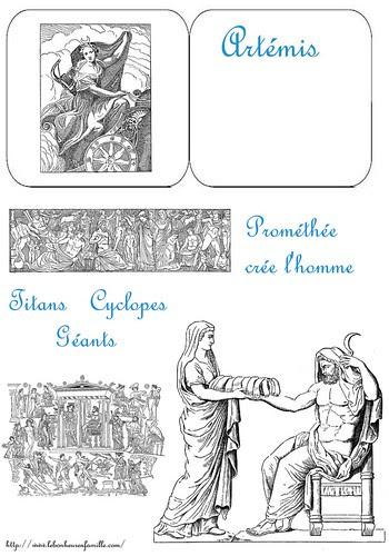 lapbook dieu grec