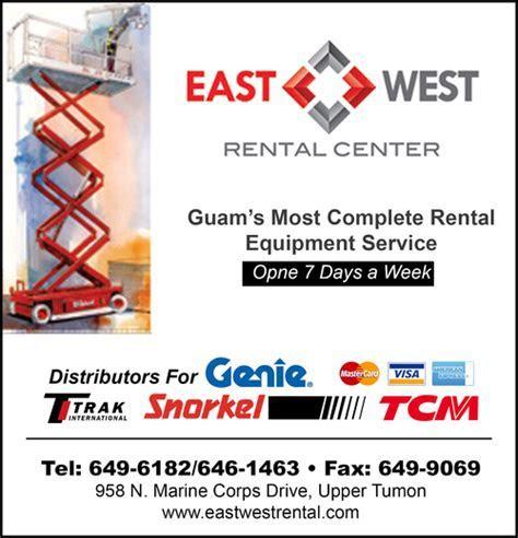 Contact Online Directory EAST WEST RENTAL CENTER in Upper