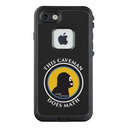 Fre Lifeproof iPhone Case Math Smart Caveman