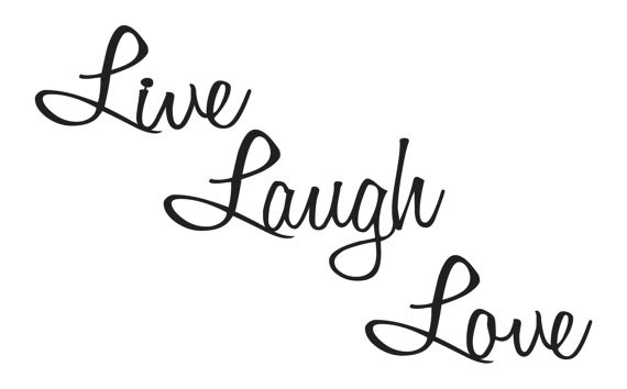 Live Laugh Love Quotes Metal Wall Art Wall by ...