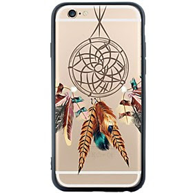 For Etui iPhone 6 / Etui iPhone 6 Plus Stovtett / Monster Etui Bakdeksel Etui Drommefanger Myk TPU AppleiPhone 6s Plus/6 Plus / iPhone