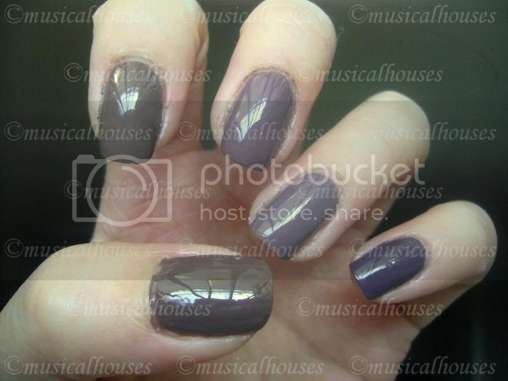 Essie Mink Muffs, Chanel Particuliere, Nails Inc Jermyn Street, Rimmel Steel Grey, Asos Paints by Ciate Sienna