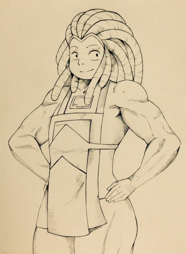 My Drawing Of Bismuth :3