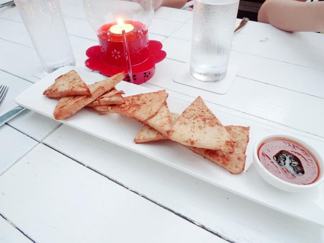 food at Nosh Restaurant