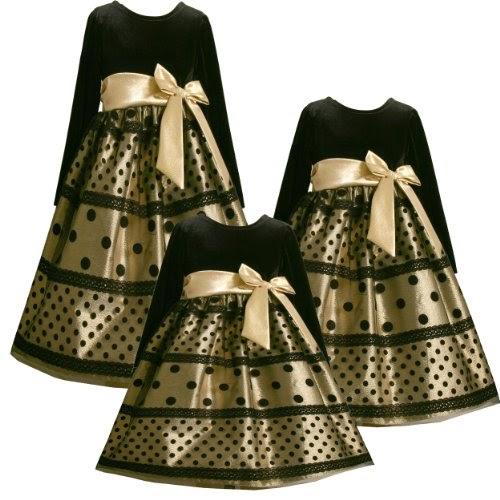Size 6 Bnj 5004x Metallic Gold Black Flock Lace Dot Mesh