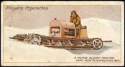 Motor Sleigh, Scott's Expedition, 1910