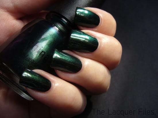 China Glaze Gussied Up Green