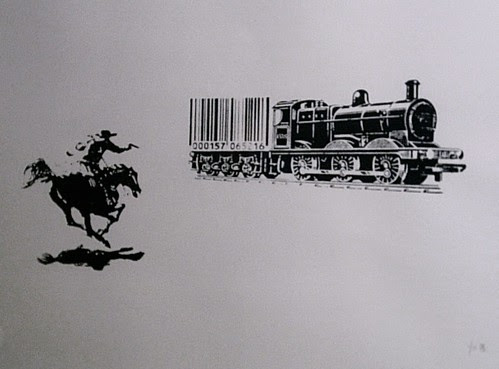 BARCODE - THE GREAT TRAIN ROBBERY by Emo  2009 (c)