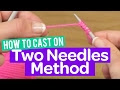 How To Knit A Scarf With Two Needles