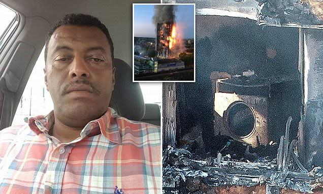 Man whose 'faulty fridge started Grenfell Tower inferno