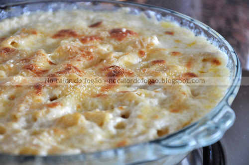 Mac' n' cheese de quatro queijos