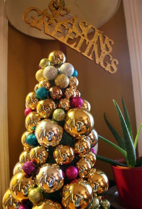 DIY: Glass Ornament Christmas Tree   Blog   Wicked Mint