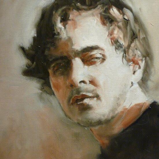 Oil Paintings: Andrew by Mick Kupresanin