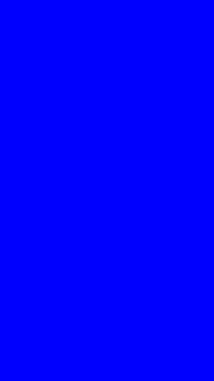 750x1334 Blue Solid Color Background
