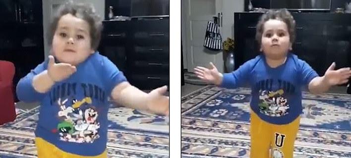 Τούρκος μπόμπιρας χορεύει τσιφτετέλι και ρίχνει το Ιντερνετ -Μπρίο, νάζι, σπάει τη μέση σαν επαγγελματίας χορευτής [βίντεο]