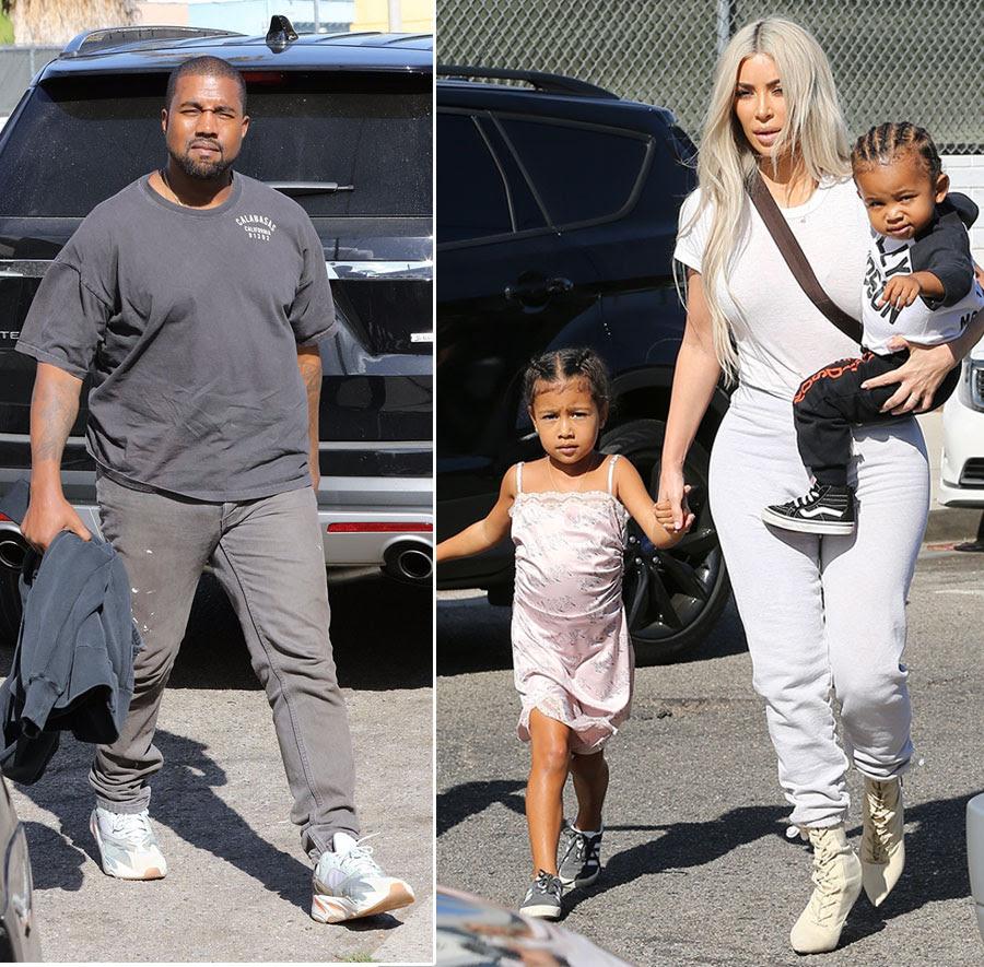 PICS: Kanye and Kim Kardashian-West Take Over Iceland Skating Center