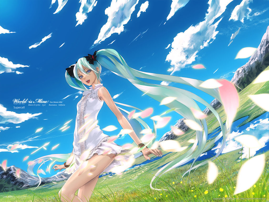 Miku Hatsune Vocaloid Wallpaper Vocaloids Wallpaper 8315521