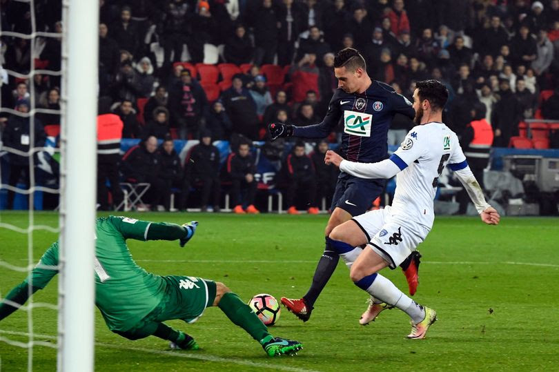 SPORTS: Julian Draxler scores on PSG debut as Unai Emery's men thrash Bastia 7-0 in French Cup