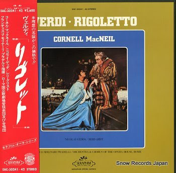 MACNEIL, CORNELL verdi; rigoletto