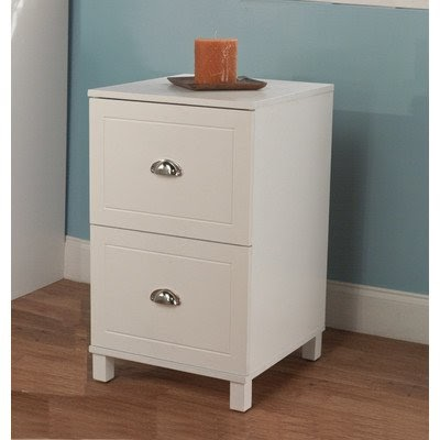 White File Cabinet Bradley 2 Drawer Filing Cabinet Finish