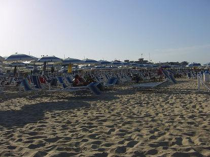 La spiaggia di Civitanova Marche