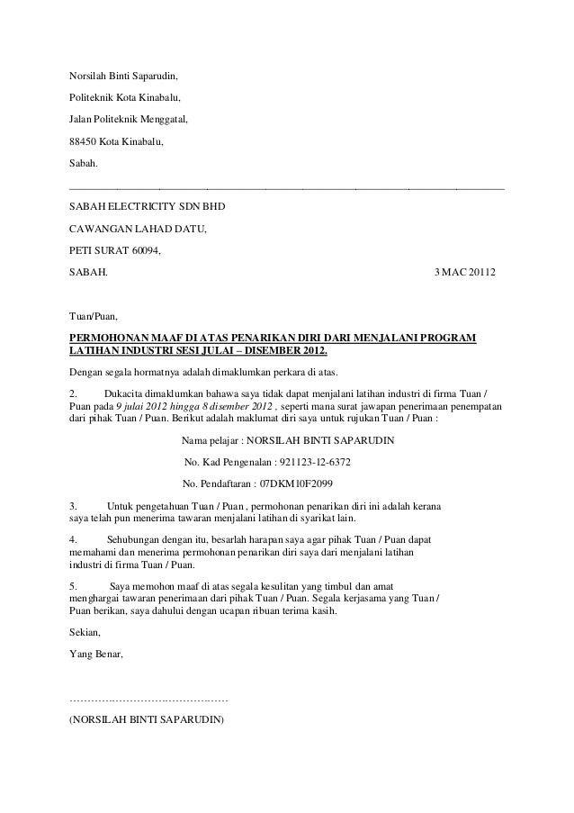 contoh email menolak tawaran kerja contoh miri