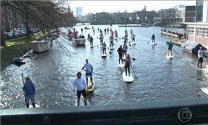 Festival de Pranchas a vela (stand-up paddle) em A