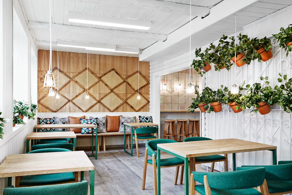 Norwegian architecture blends with Spanish culture: Vino Veritas Oslo by