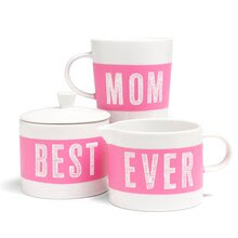 "Martha Stewart Crafts® ""Best Mom Ever"" Coffee Set"