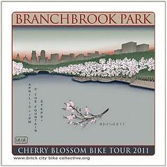Cherry Blossom Bike Tour logo