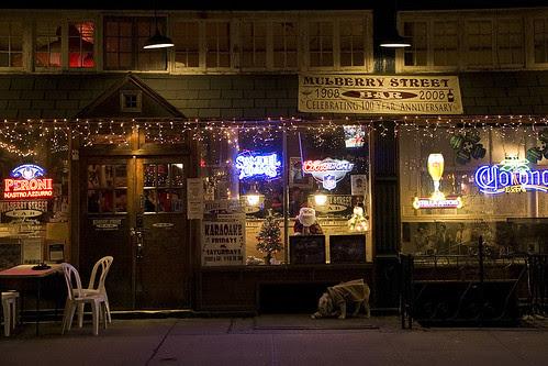 Mulberry Street Bar, NYC