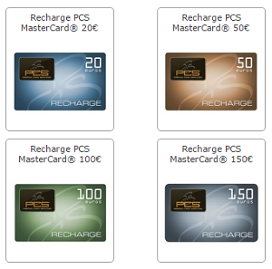 Arnaque coupons pcs mastercard