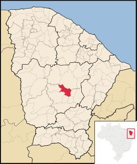 Localização de Senador Pompeu