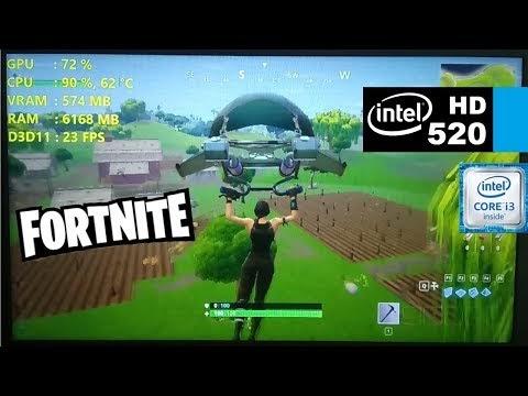 Intel Hd Graphics 520 Fortnite