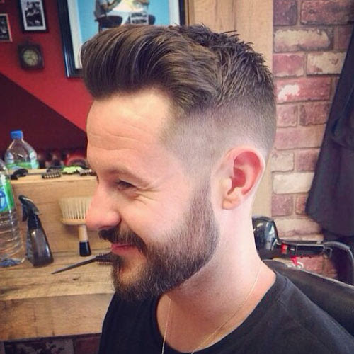 Beard with undercut @bucksbarbers
