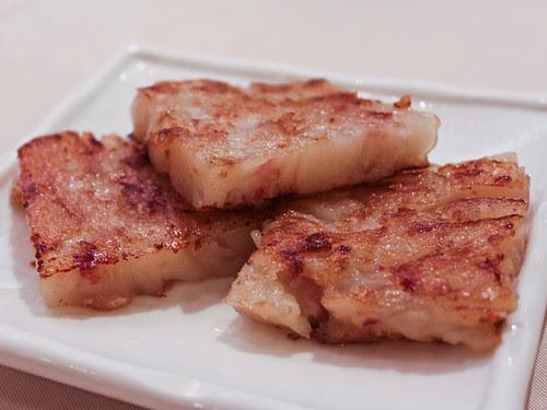 Turnip cakes (新樂 Shamrock Seafood Restaurant)