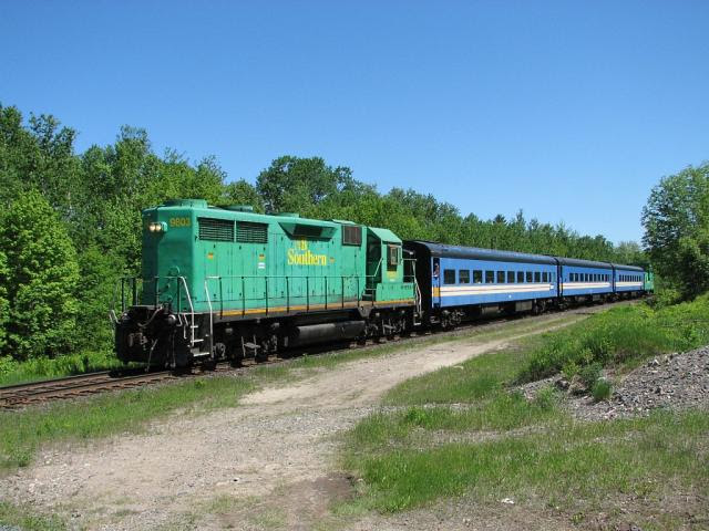 NB Southern Rally of Hope Train