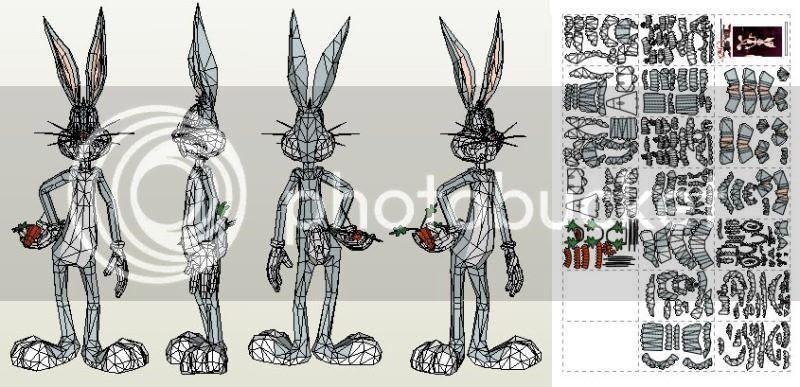 photo bugs.bunny.papercraft.via.papermau.002_zpsaoe0oe4i.jpg