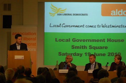 Nick Clegg Lib Dem local government conference June 10 5