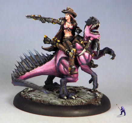 Human with complex story riding a unique dragonspawn