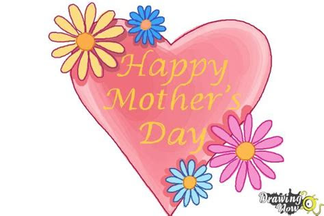 draw  mothers day card drawingnow