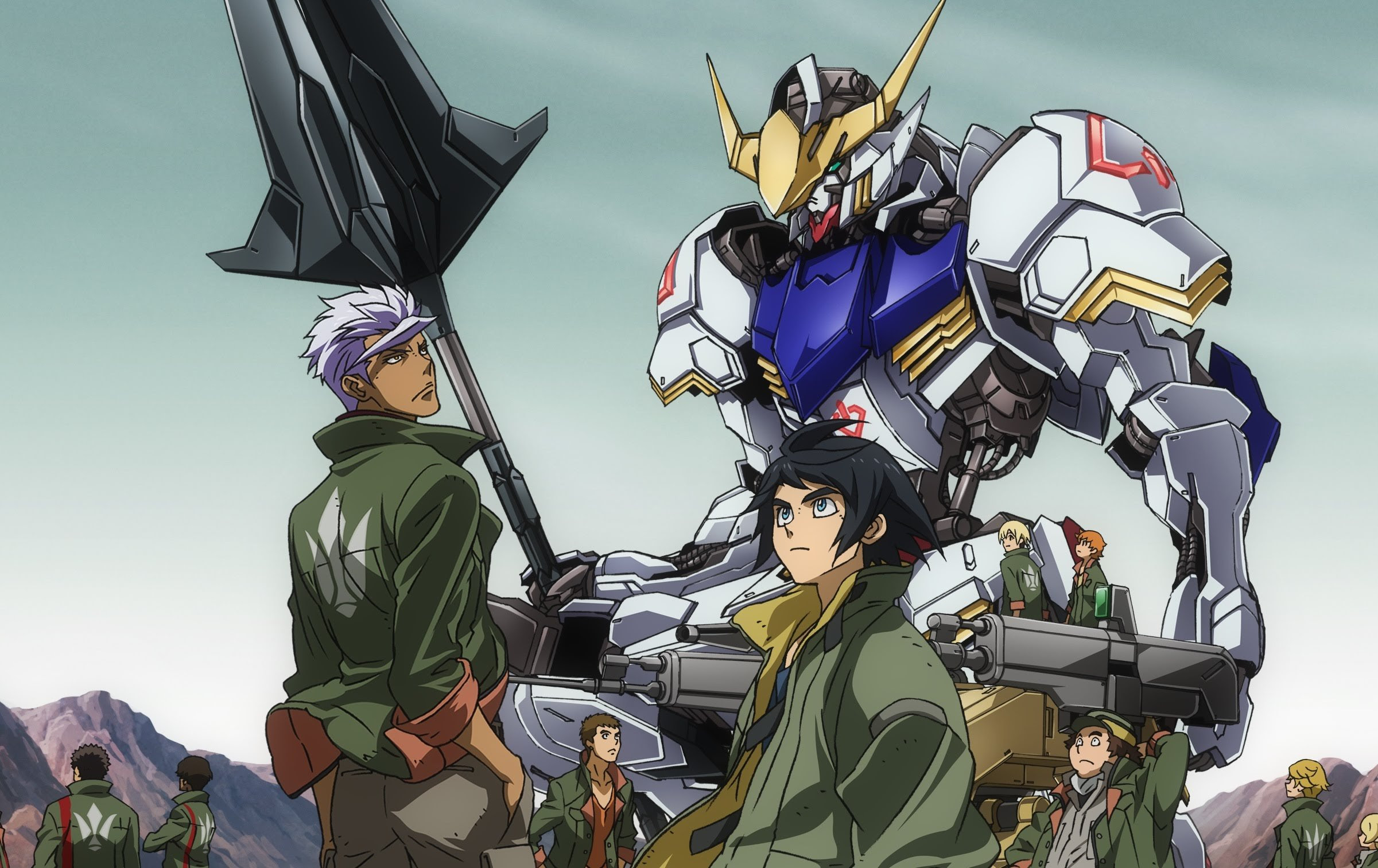 License for Mobile Suit Gundam: Iron-Blooded Orphans obtained by Funimation screenshot