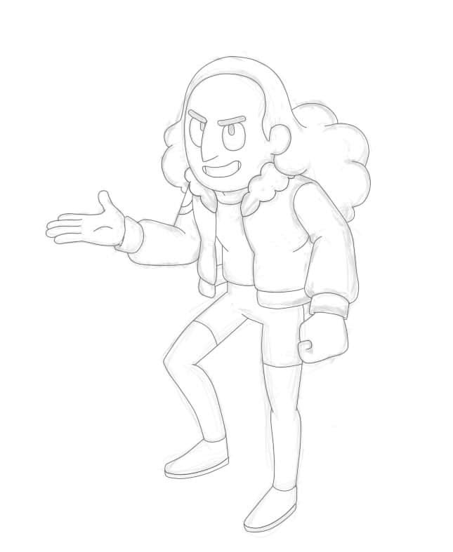 Wanted to draw Connie.