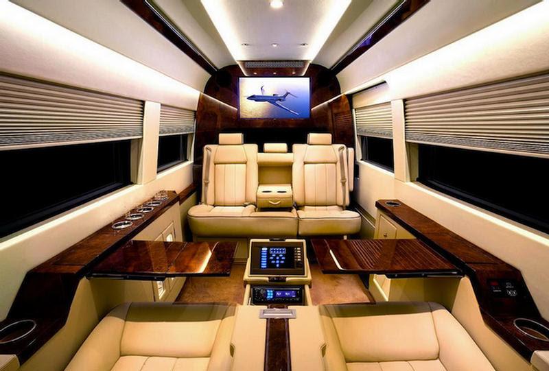 Mercedes Benz Van Shocking Luxury Interior - XciteFun.net