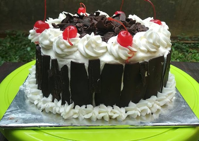 Resep Blackforest Cake Kukus