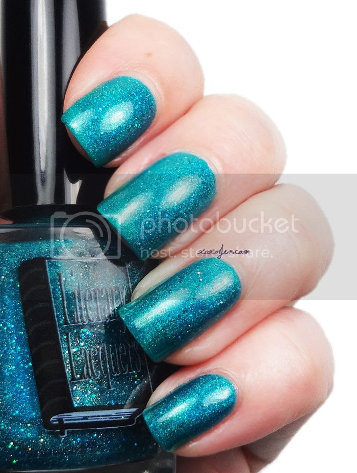 xoxoJen's swatch of Literary Lacquers Pan Galactic Gargle Blaster