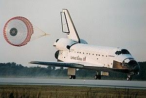 Space Shuttle Endeavour landing